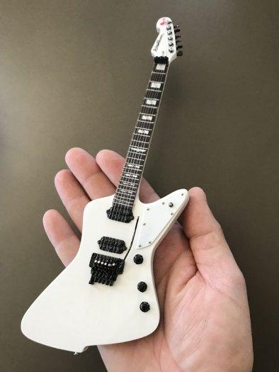 Marzi Montazeri Signature Custom Washburn Parallaxe Priestess Miniature Guitar Replica by AXE HEAVEN®