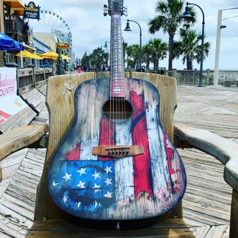 Custom Painted Guitar by AXE HEAVEN®