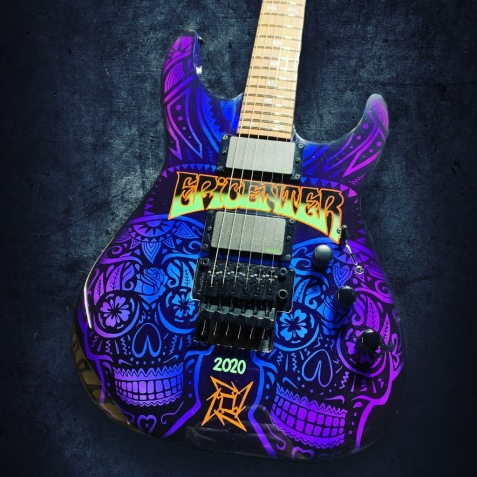 Custom-Painted-Guitar-1673