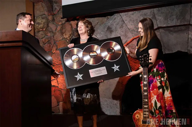 Triple Platinum Record Awards by AXE HEAVEN®