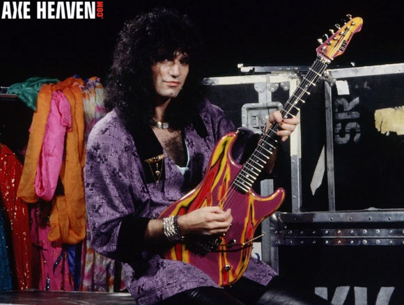 Bruce Kulick  - an AXE HEAVEN® Exlusive Artist - Officially Licensed Miniature Guitars by AXE HEAVEN®