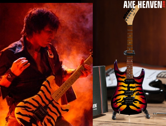 George Lynch - an AXE HEAVEN® Exlusive Artist - Officially Licensed Miniature Guitar by AXE HEAVEN®