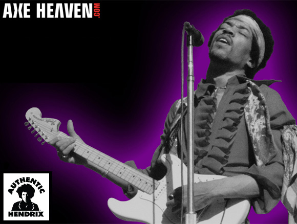 Jimi Hendrix - an AXE HEAVEN® Exlusive Artist