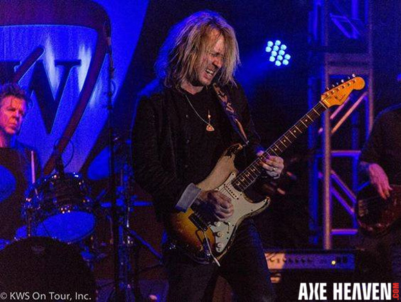 Kenny Wayne Shepherd Officially Licensed Miniature Fender™ Strat™ Guitars by AXE HEAVEN®