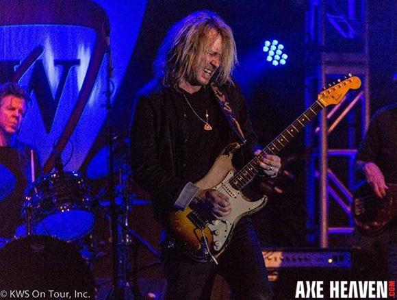 Kenny Wayne Shepherd - an AXE HEAVEN® Exlusive Artist - Officially Licensed Miniature Fender™ Strat™ Guitars by AXE HEAVEN®