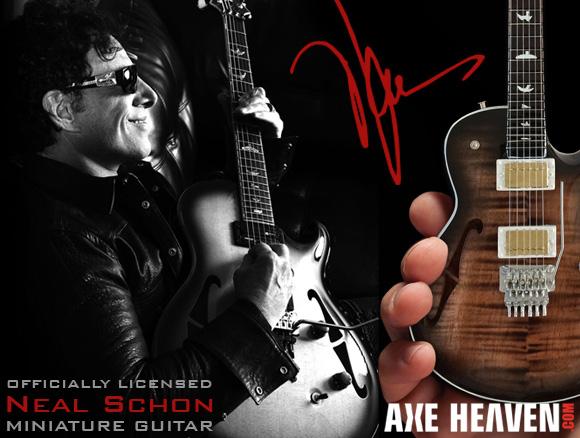 Neal Schon - an AXE HEAVEN® Exlusive Artist
