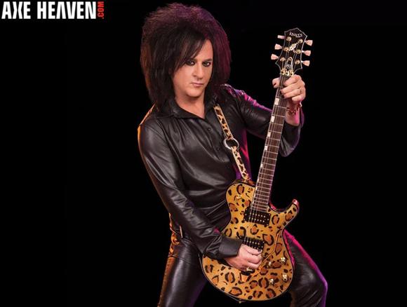 Steve Stevens - an AXE HEAVEN® Exlusive Artist - Officially Licensed Miniature Guitars by AXE HEAVEN®