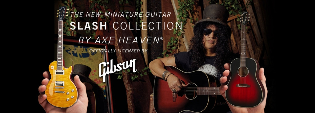 OFFICIAL SLASH MINI GIBSON GUITAR MODELS - HANDCRAFTED - LIMITED QUANTITY AVAILABLE