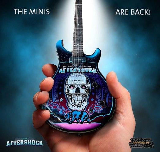 RonzWorld Mini Guitar Aftershock 2021