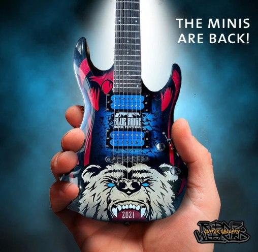 RonzWorld Mini Guitar Blue Ridge Rock Festival 2021