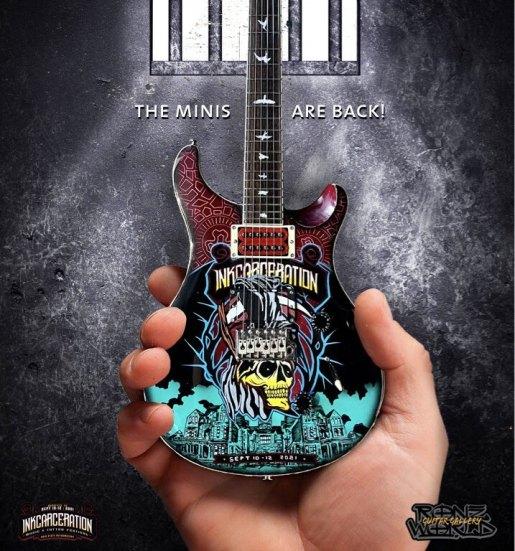 RonzWorld Mini Guitar Inkcarceration 2021