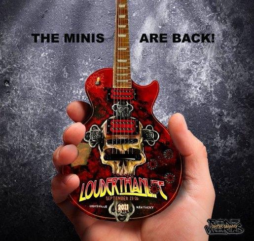RonzWorld Mini Guitar Louder Than Life 2021