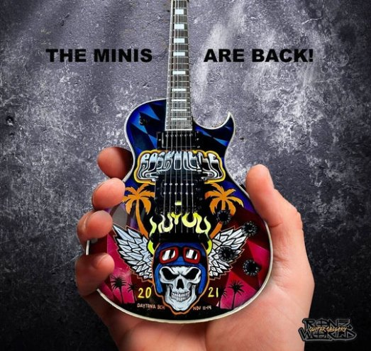 RonzWorld Mini Guitar Rockville 2021